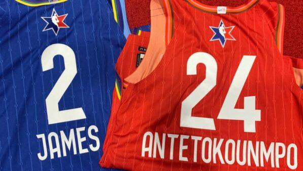 Uniformes do NBA All-Star serão em homenagem a Kobe Bryant e filha; veja fotos