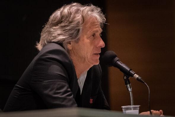 Jorge Jesus provocou polêmica após declaração e foi defendido por Benjamin Back - imagem: reprodução/Flamengo