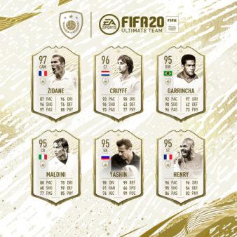A EA Sports acaba de lançar no Ultimate team do FIFA 20 a versão final de 89 jogadores lendários, os Icons Moments. Dessa forma, é possível tirar em packs as melhores cartas de cada