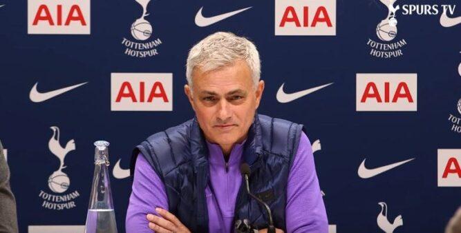 """Mourinho comenta lesão de Harry Kane: """"As expectativas são boas"""""""