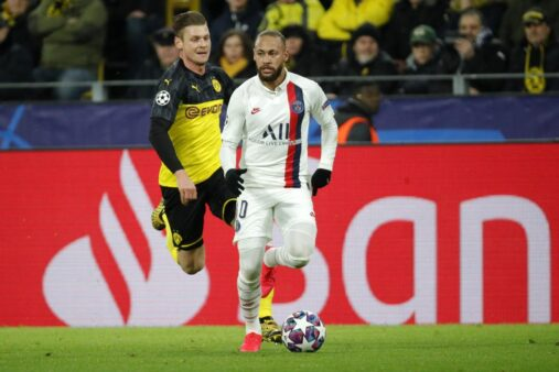 Coronavírus pode interferir no duelo entre PSG x Dortmund.