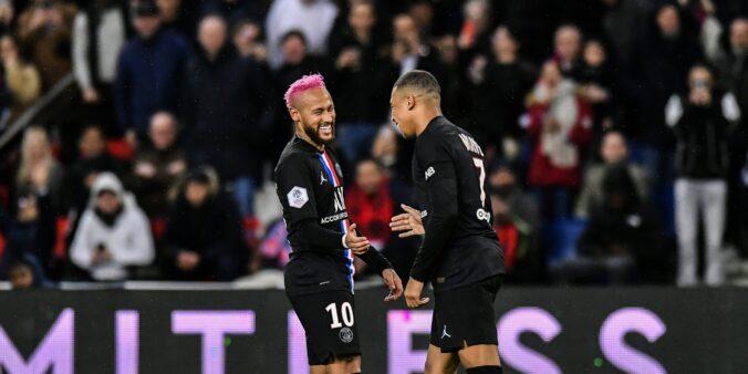 Neymar Mbappé PSG