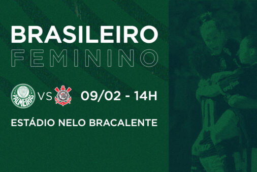 Palmeiras x Corinthians dérbi Brasileirão Feminino