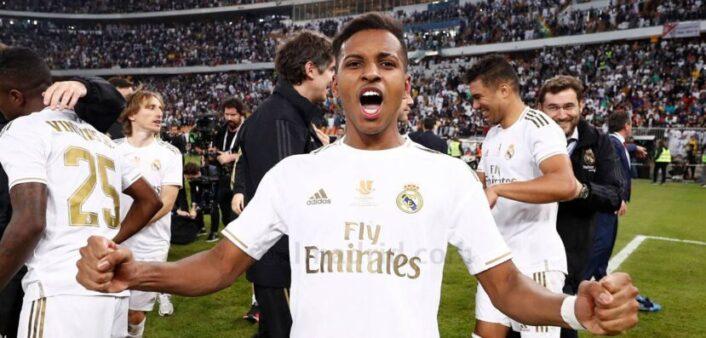 Rodrygo é uma das esperanças do Real Madrid