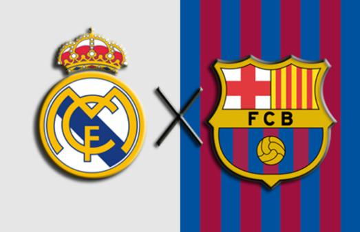 Real Madrid x Barcelona El Clássico La Liga