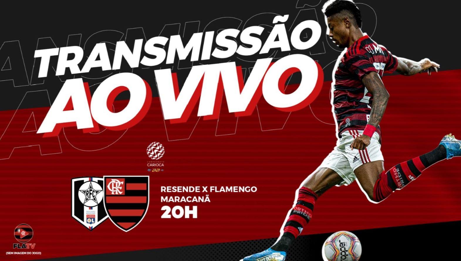 Resende X Flamengo Acompanhe A Transmissao Da Fla Tv Ao Vivo