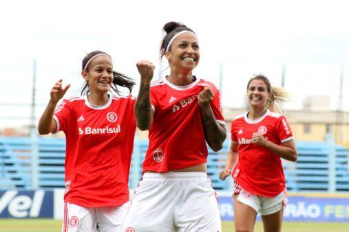 São Paulo x Internacional gols Brasileirão Feminino