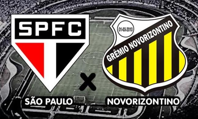 Resultado de imagem para São Paulo x Novorizontino
