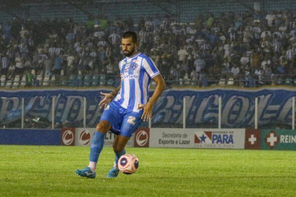 Serginho projetou clássico equilibrado no estádio Mangueirão - imagem: Jorge Luiz/ascom Paysandu