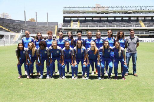 Thaisinha camisa 10 Cristiane 11 Sereias da Vila numeração para a temporada Santos