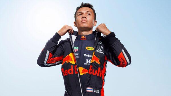 Albon Red Bull Fórmula 1