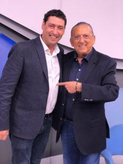 Galvão Bueno elogiou PVC