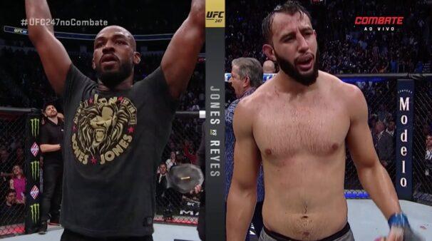 Jon Jones Dominick Reyes UFC 247