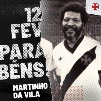 Vasco tem Martinho da Vila como torcedor.