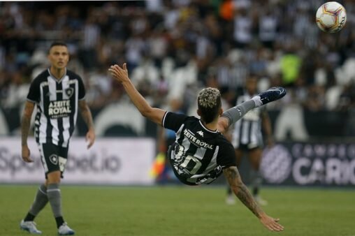 Vitor Silva/ Twitter oficial Botafogo FR