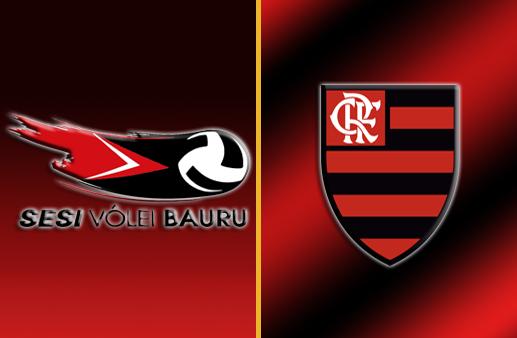 Vôlei Bauru x Flamengo Superliga Feminina de Vôlei
