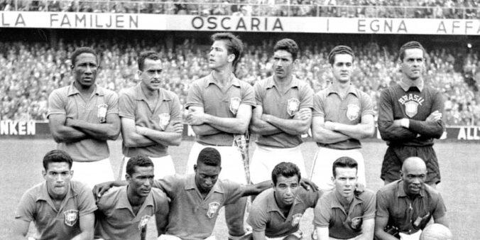 Saiba quais times foram representados por jogadores na Copa do Mundo de 1958