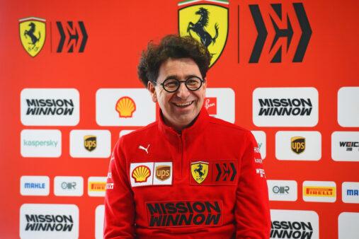 Ferrari Fórmula 1 Mattia Binotto