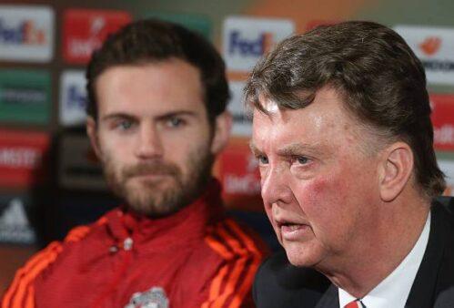 Manchester United Juan Mata Louis Van Gaal