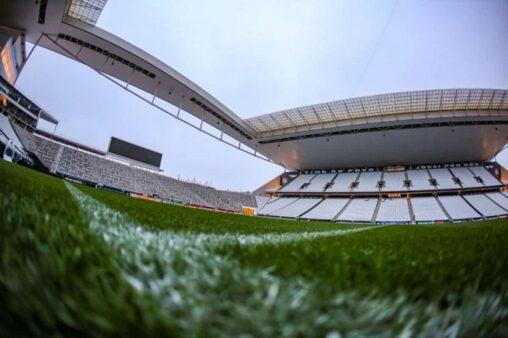Jogos AO VIVO nos canais Premiere (Foto: Arena Corinthians/ Divulgação)