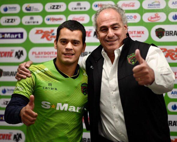 Mendieta foi contratado pelo Palmeiras em 2013