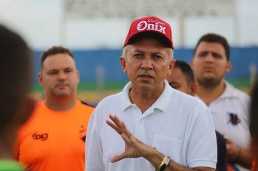 Warton Lacerda, presidente do Altos-PI (Reprodução/ Facebook oficial Associação Atlética de Altos)