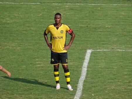 Leandro Amaro, zagueiro do São Bernardo FC (Reprodução/ Facebook oficial São Bernardo FC)