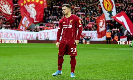 Shaqiri pode estar deixando o Liverpool