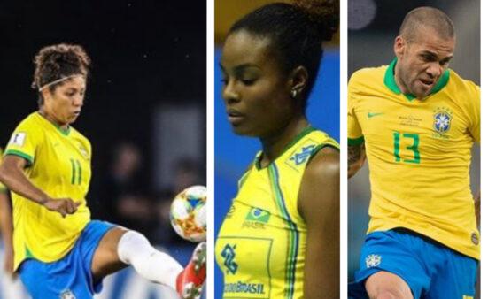 Atletas vão às redes sociais para criticar o discurso de Bolsonaro