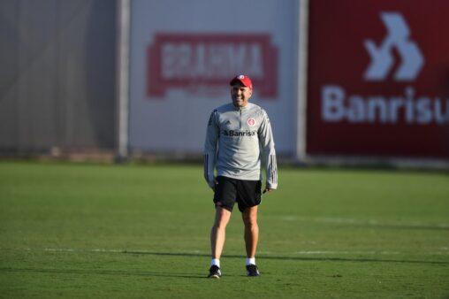 Eudardo Coudet treino Inter