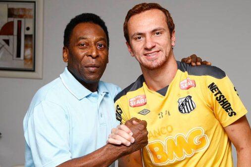 Zé Love e Pelé