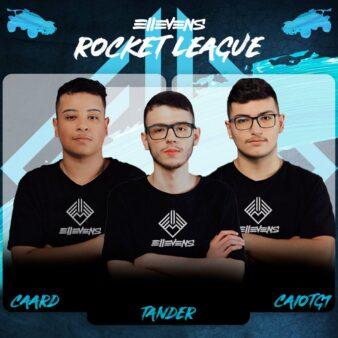 O trio brasileiro já conquistou o primeiro título de Rocket League com a Ellevens