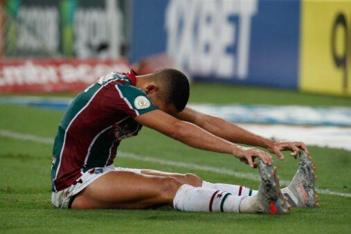 Gilberto em ação pelo Fluminense