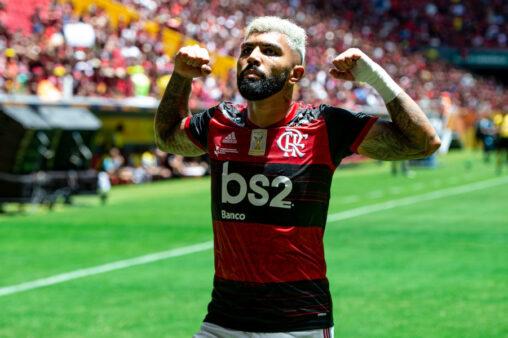 Gabigol vem se destacando pelo Flamengo.