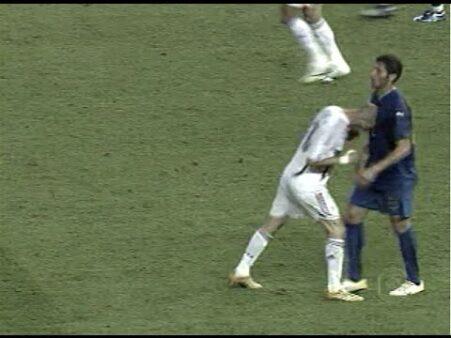 Zidane e Materazzi na Copa de 2006