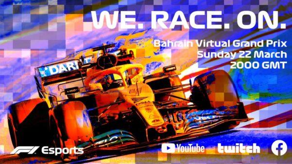 O F1 Esports Virtual Grand Prix busca oentretenimento dos fãs da Fórmula 1