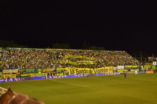 Defensa y Justicia x Santos/ Copa Libertadores 2020 (Estádio Norberto Tomaghello/ Divulgação)