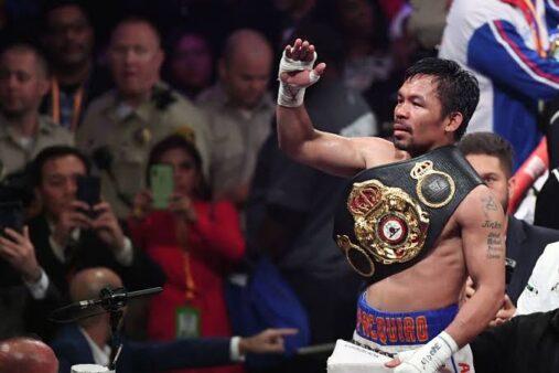 Adversários Manny Pacquiao
