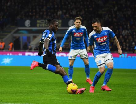 Napoli x Inter de Milão Copa Itália