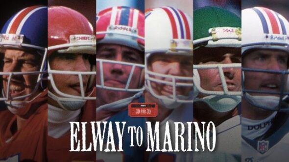 Elway to Marino