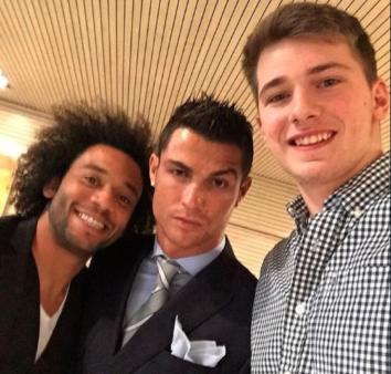 Luka Doncic and Cristiano Ronaldo