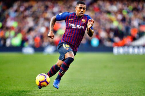 Malcom deixou o Barcelona sem conseguir de destacar.