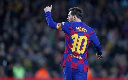 Messi doa quantia milionária no combate ao coronavírus na Argentina