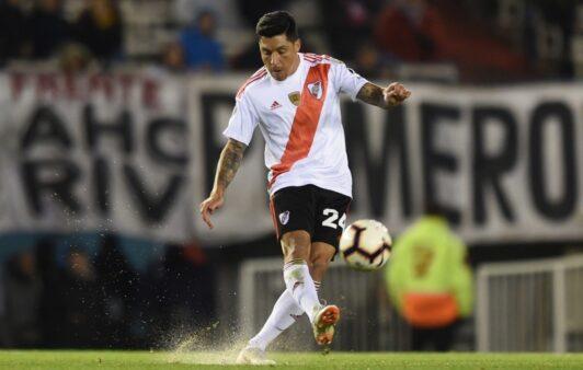 Enzo Peréz relembrou derrota na final da Libertadores.