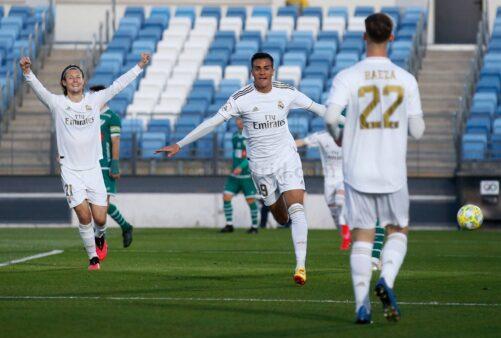 Reinier vem atuando no time B do Real Madrid.