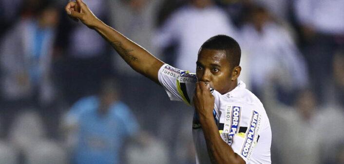 Robinho falou sobre volta ao Brasil.