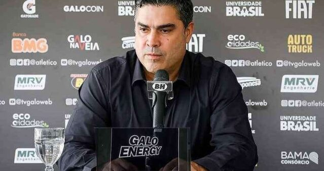 Sette Câmara cita Fla, elogia base do Atlético-MG e diz que revelará muitos jogadores