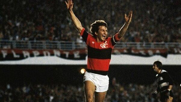 Zico é o grande artilheiro do Flamengo apelidos Rio de Janeiro