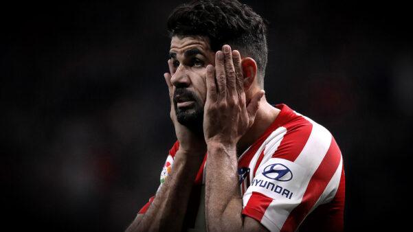 Diego Costa em ação pelo Atlético de Madrid