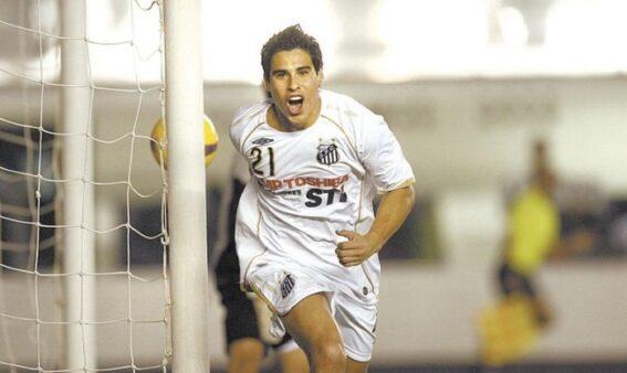 Molina, ex-jogador do Santos (Foto: Divulgação/ Site oficial Santos FC)